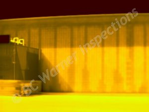 Infrared Block (CMU) Wall Inspection -